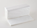 White ZFold 2ply Handtowels